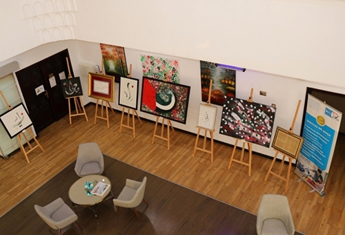 'Year of Giving' Art Exhibition