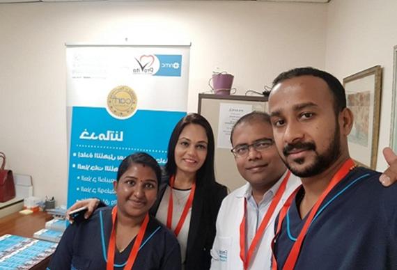 Wellness Fair with Dubai Petroleum