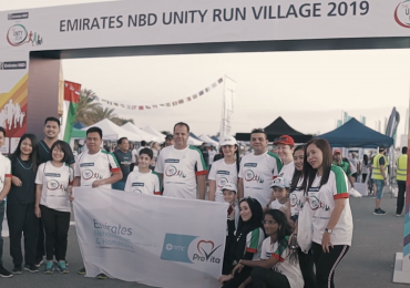 Emirates Rehabilitation & Homecare at The Unity Run 2019